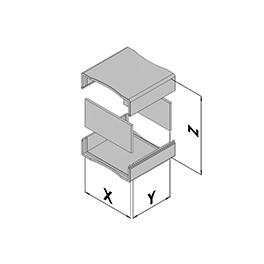 Contenitore in plastica EC10-100-6