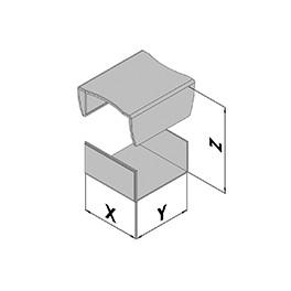 Contenitore in plastica EC10-200-6