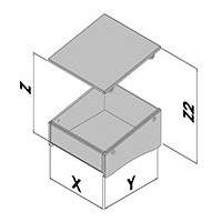 Contenitore da tavalo EC40-4xx